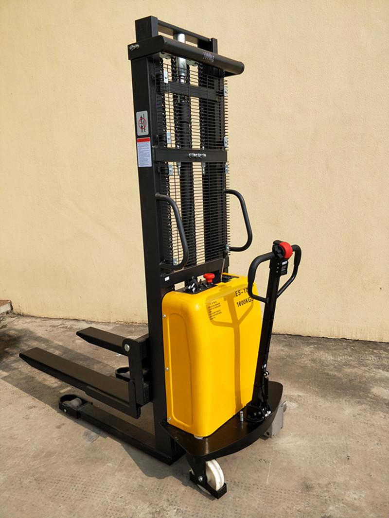 material handling equipment 1000kg electric pallet stacker