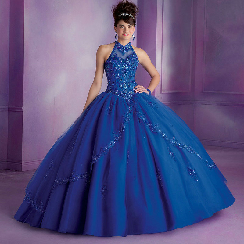 Aliexpress.com : Buy Royal Blue Quinceanera Dresses Ball ...  Aliexpress.com ...