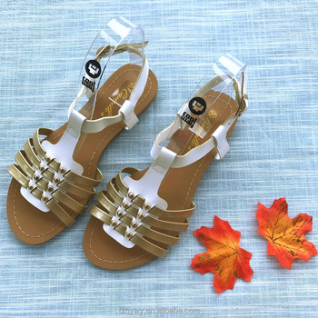 a5102322bfc1ab Girls flat summer sandals China fashion style 2018 for women new design  shoes