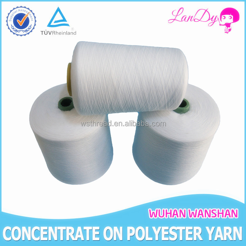 high tenacity 50/2 semi-dull 100pct polyester sewing thread