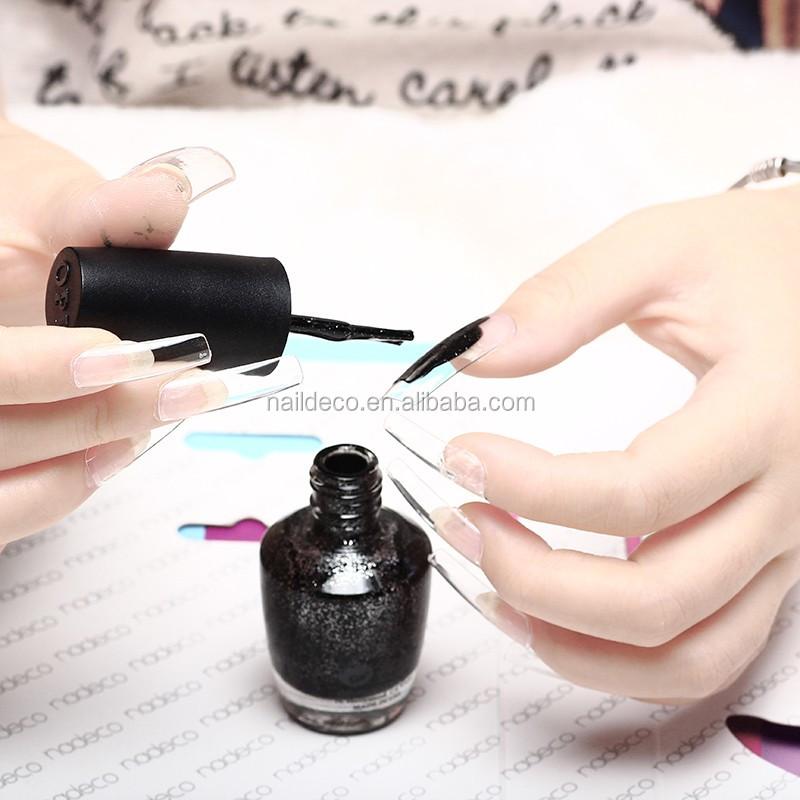 500pcs False Nails New French Nail Tips Natural Fake Nails Acrylic ...