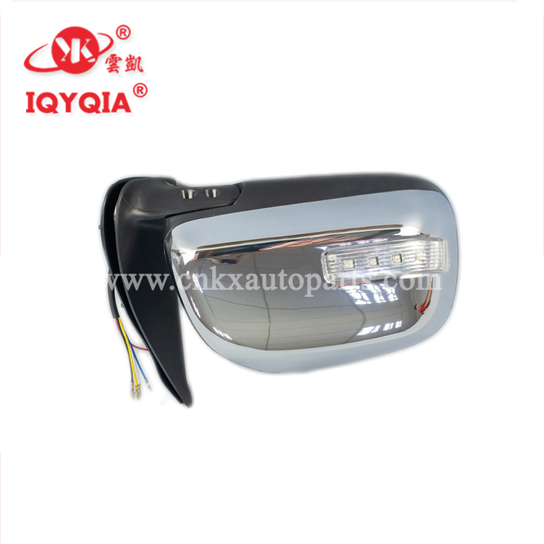 87940-0K800 87910-0KA40 fabrik direkt auto tür LED side spiegel für HILUX VIGO 2012-2014