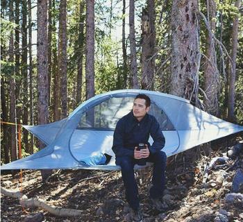 Haute Suspendu Conçu En Plein Air Camping Triangle Hamac Suspendu