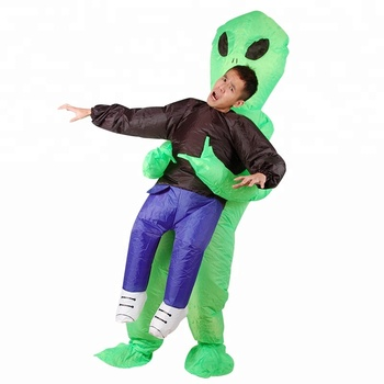 trade assurance adult alien inflatable costume halloween funny alien inflatable costume
