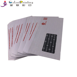 Double Window Envelopes Self Seal Security Tinted White DL Envelopes
