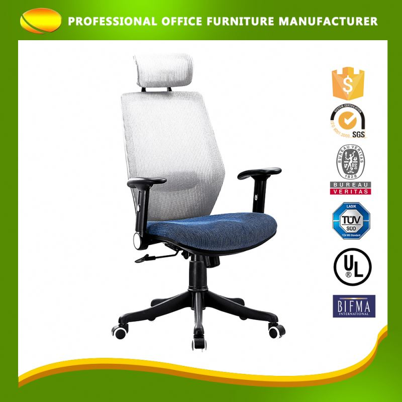 OEM Service Boss High Back Mesh Office Chair With Armrest