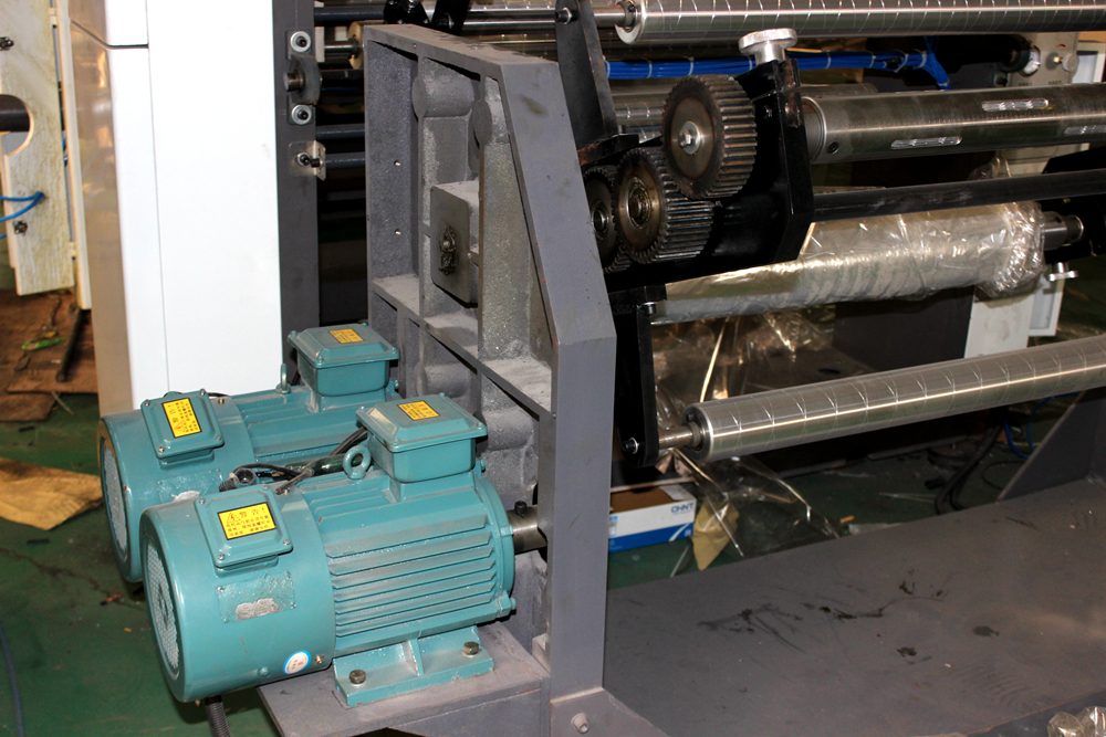 High speed computerized gravure printing press