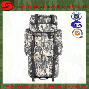 Tactical Military Bag MOLLE Large Capacity Modular Attachments 50L Waterproof Rucksack Outdoor