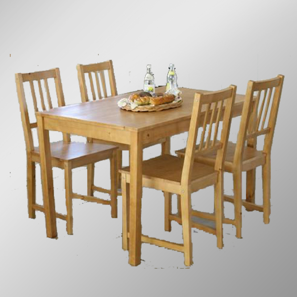 Solid Pine Dining Table And Chairs/Wooden Dining Table And Chairs, View  Restaurant Dining Tables And Chairs, SINOAH Product Details From Qingdao  Sinoah ...