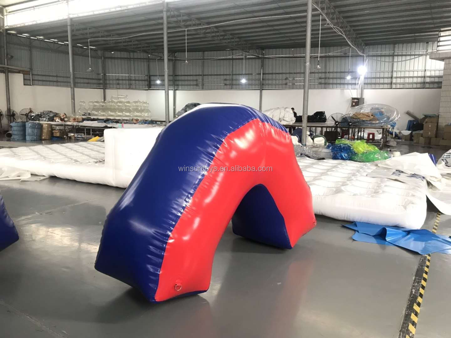 CS laser inflatable water floating buoys,,Laser gun inflatable paintball fields,inflatable paintball area