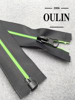 Long chain nylon zipper polyester waterproof zipper factory price zipper