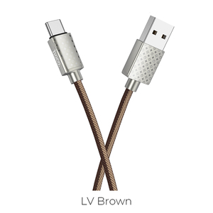 Hoco U61 Luxury Style 1.2M Smart Phones Charging Cable For Type C