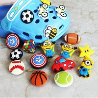 Custom 3d soft pvc croc shoe charms shoe lace charms for shoelace accessories
