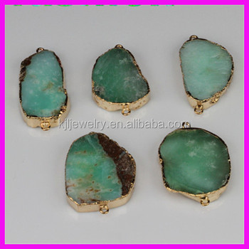 AAA Quality new natural drusy druzy stone,agate Australia Jade stone,semi-gemstone HOT sale jewelry connector
