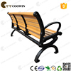 wooden long bench chair with natural feeling