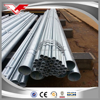 leading factory building materials zinc galvanized steel pipe from Tianjin TYT steel pipe company