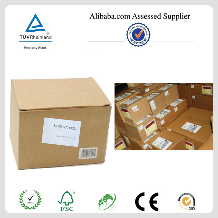 Premium quality self-adhesive shipping half sheet labels for international mail PayPal,USPS