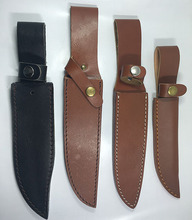 custom outdoor camping knife accessories leather sheath