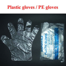 Low price of gloves disposable pe China manufacturer
