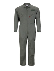 Pilot coverall military suit Sage green