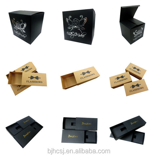 Boutique cartone packaging scatola regalo di candela