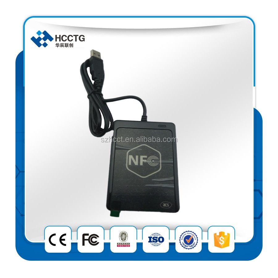 Supports ISO 14443 card reader ce fc USB NFC reader- ACR1251