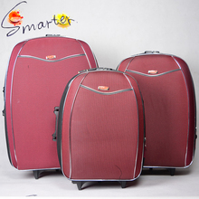 New Product 3pcs External EVA Fabric Trolley Luggage Set