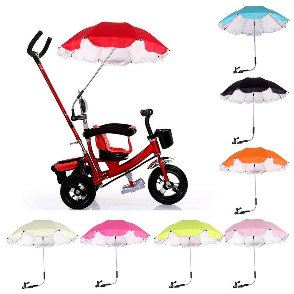 Amiley Baby Stroller Umbrella, New Baby Stroller Cover Parasol for Sun Rain Protection UV Ray Umbrella