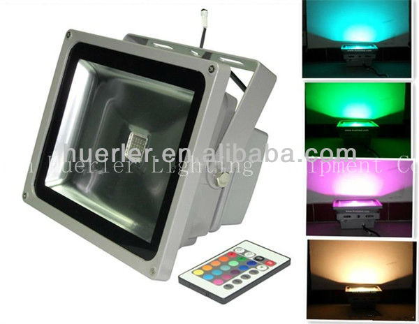 Ip65 Rgb Dmx 60w High Power Led Floodlight
