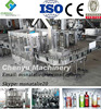 Automatic Whisky/ Brandy/Vodka washing filling capping machine