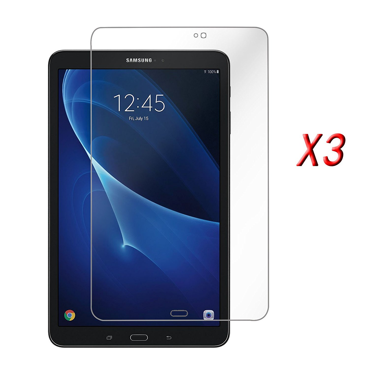 Infiland Galaxy Tab A 7.0 Screen Protector, 3-PACK Cystal Clear Screen Protector Film Guard For Samsung Galaxy Tab A 7.0 2016 Release 7-Inch Tablet(SM-T280 / SM-T285)(HD Clear)