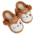 High quality Deer Cartoon Christmas Slippers Soft sole indoor slipper