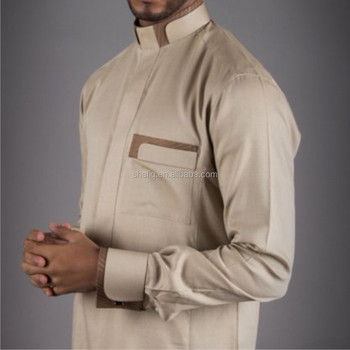 Jalabiya qamis muslim Islamic famous men's clothing jubba men kaftan muslim man robes abaya clothing thobe