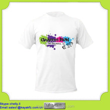 white cotton t shirts chest prints