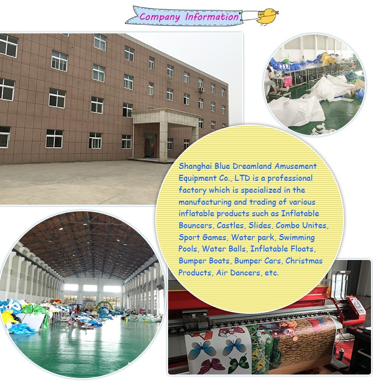 Popular Commercial Inflatable Action Air Jumping Castle
