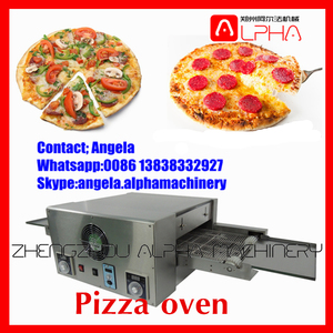 commercial rotisserie oven/pizza oven gas/conveyor pizza oven