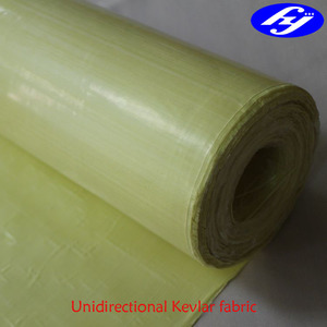 4 layers aramid UD fabric for military bullet proof vest for sale