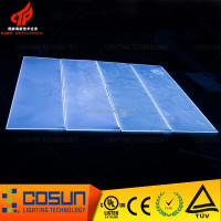 UL approved acrylic plastic glass sheet with SMD2835 led strip