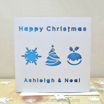 Newest laser cutting christmas card light up greeting cards printed newest laser cutting christmas card light up greeting cards printed m4hsunfo