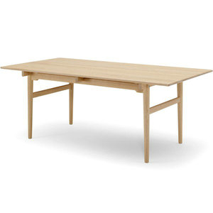 Replica rectangle wegner CH327 wood dining table by solid wood