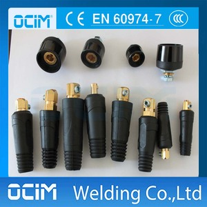 Euro style Welding Cable Connector For Welding Machine