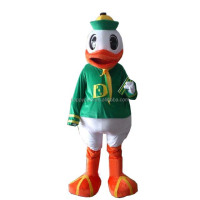 Hot sale cheap price adult oregon duck mascot costume