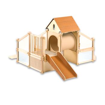 Nursery School Solid Wood Indoor Play Structure Equipment Outdoor ...