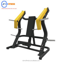 Strength Training Plate load Gym Exercise Equipment Incline Chest press Bench for sale with good price