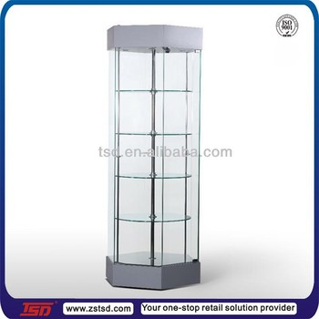 Tsd-w972 Jewelry Cabinet Led Light Shelves,Display Cabinet And ...