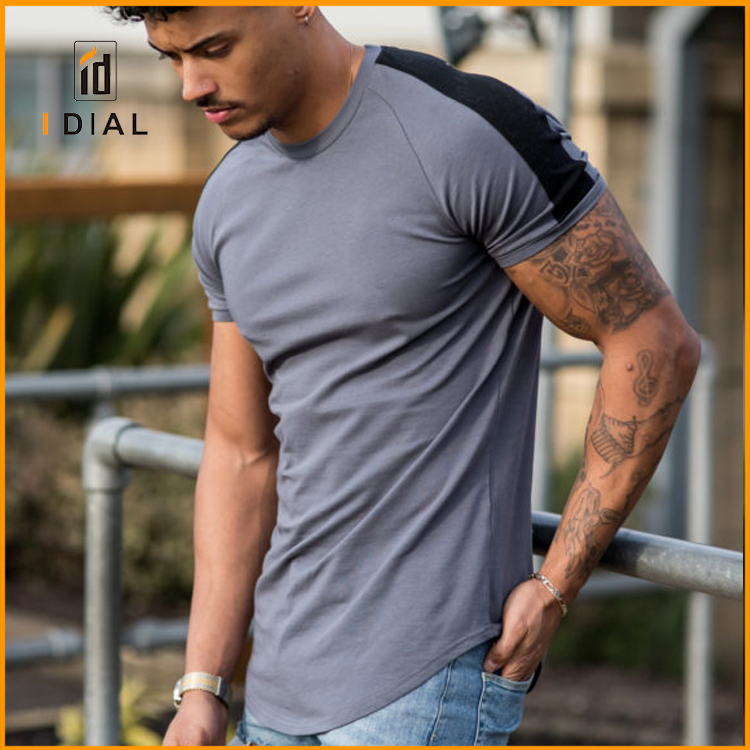 Wholesale fashion sports gym clothes custom men quick dry slim fit running gym wear