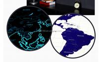 Starlight World Map Scratch off World Map Glowing in the Dark