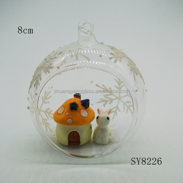 China ceramic easter gift wholesale alibaba wholesale easter gift decoration open terrarium rabbit glass osterhase easter decoration negle Gallery