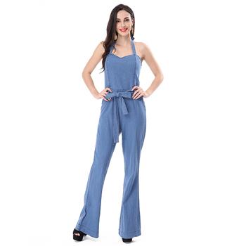 the latest a08ab fefba Damen-damen-jeans-overall,Jeans-jumpsuits Für Frauen - Buy Frauen Denim  Overall,Damen Denim Overall,Denim-stoff Overall Product on Alibaba.com
