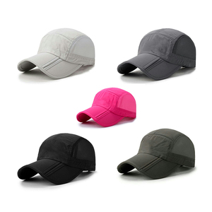 High Quality Plain Soft Foldable Outdoor Sports Mesh Baseball Cap